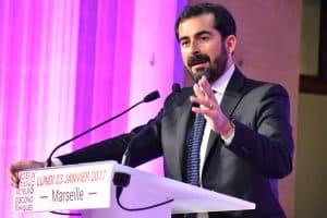 Président de l'UPE13 Mr JOHAN BENCIVENGA
