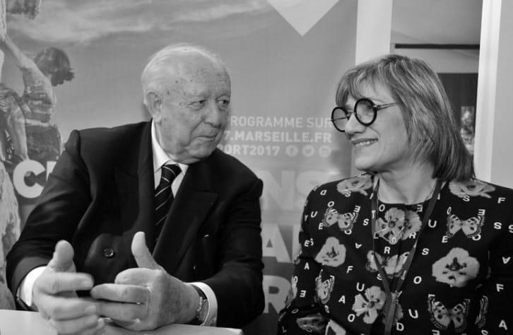 JEAN CLAUDE GAUDIN maire de Marseille