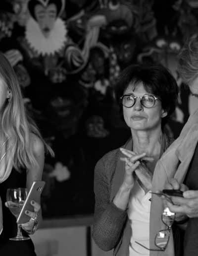 la soirée vernissage de Fine Art Invest et MyLocArt à la villa gaby marseille