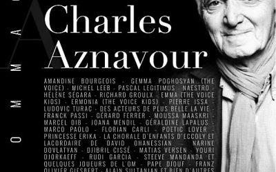 MARSEILLE REND HOMMAGE A CHARLES AZNAVOUR AU SILO !